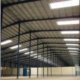 La estructura de bastidor de acero de construcción prefabricados