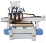 Pneumatischer ATC CNC-Fräser-hölzerne schnitzende Gravierfräsmaschine