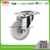 100mm Swivel Plate White PP Castor (P103-30D100X35)