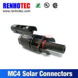 Macho/fêmea do conetor do TUV Mc4 para a potência solar