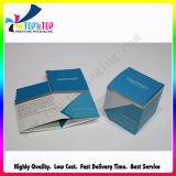 Rectángulo de regalo plegable plano de la impresión del punto del papel ULTRAVIOLETA de la venta al por mayor