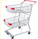 Совершенно новой тележки, дешевые каталки каталки Anti-Corrosive магазинов тележка (JT-E06)