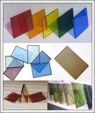 il verde di 8mm, il bronzo, l'azzurro, il colore rosa, radura ha ricoperto il vetro riflettente di vetro