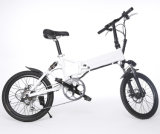Erwachsener 20inch, der elektrisches Fahrrad mit Fahrwerk-Batterie faltet
