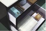 [هيغقوليتي] لمعان بيضاء وجدار أسود يعلى [مدف] أثاث لازم مع جانب خزانة