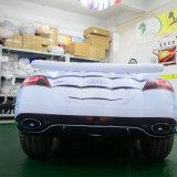 Weißes aufblasbares Auto für das Bekanntmachen