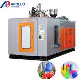 Moldeo por insuflación de aire comprimido de la caja de herramientas automática llena plástica que hace la máquina