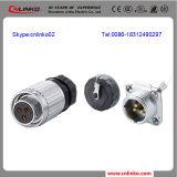 El conector de cable eléctrico impermeable 3PIN/Enchufe y toma para pc