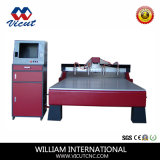 Máquina de madera Marbel de la carpintería de la máquina del CNC del ranurador del CNC que talla Vct-1725W-4h