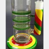 Spuitpistool Drie van het Water van het Glas van de kleur - De Pijp van de Filtratie van de Honingraat van de Laag