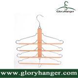 ズボンまたはタオルの表示のための新しい組合せの木製のハンガー