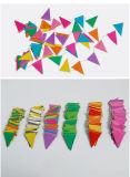 Pabellón Triángulo guirnalda de papel al por mayor de tejido