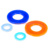 Kundenspezifische runde Form-Ring-Unterlegscheibe/flach Gummidichtungen für Dichtung