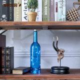 De kleurrijke Fles van de Wijn van het Glas voor de Decoratie van het Huis (Aangepaste Kleur acceptale)