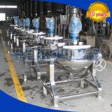 Chaleira Jacketed do aquecimento de vapor do aço inoxidável (máquina)