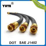 Tuyau noir de frein d'automobile de Yute SAE J1402