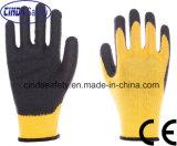 Cinda Calibre 10 Polyester enduit de latex Gants de travail