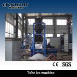 Macchina di ghiaccio del tubo 30 tonnellate per creatore di ghiaccio economizzatore d'energia del tubo di Edibile di giorno un più nuovo disegno di 2016 anni