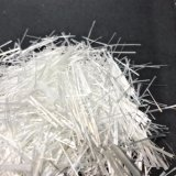 12mm álcalis Fibra de vidrio resistente a los trozos de hilo para hormigón