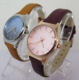 熱い方法女性用腕時計のパーソナリティー時計バンドの腕時計