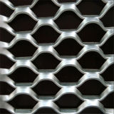 Malla de alambre de diamantes planteó el metal expandido para remolque