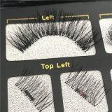 Отдельные шелк магнитных ресницами человеческого волоса Eyelash