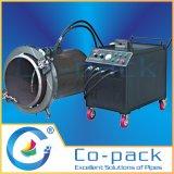 Светлая обязанность на автомате для резки холода трубы места