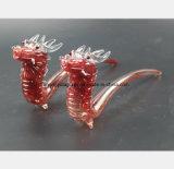 Rote Drache-Form das Filter-Wiederanlauf-Glaswasser-Rohr