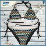 Les femmes chauds Biquini 2017 de vêtements de bain de maillot de bain de bikini soulèvent