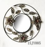 Hauptdekoration-Wand-Kunst-Metall Jeweled Spiegel-Rahmen