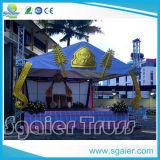 De Bundel van het Dak van de Driehoek van de Bundel van het Dak van de pagode voor de Gebeurtenissen van de School