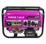 2500 Gx160 Moteur 2kw / kVA Honda LPG / Essence / Pertrol / Générateur de gaz