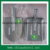 Schaufel-russische Art-Hammer-Stein-Farben-Stahlschaufel und Spaten