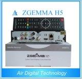 Hoher Satellitenempfänger Zgemma H5 Bcm73625 CPU-HDTV verdoppeln Mischling-Tuners des Kern-Linux-Enigma2 Hevc/H. 265 DVB-S2+T2/C