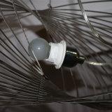 Светильник самомоднейшего декоративного следа глобуса нержавеющей стали крома привесной