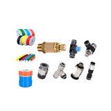 Connecteur pneumatique d'ajustage de précision de pipe de composants