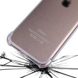 Soft TPU Gel Bumper Revestimento de plástico rígido para capa traseira para Apple iPhone 7