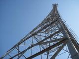 Galvanisierter Stahlgitter-Telekommunikationszellen-Aufsatz