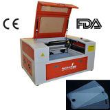 De pequeño tamaño, cortador láser de CO2 para Protector de pantalla.