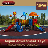 Schommeling van de Speelplaats van de school de Openlucht Plastic met Dia (x1508-10)
