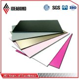Ideabond 1220*2440mm PVDF Ralの白いアルミニウム壁パネル(RAL-9016)