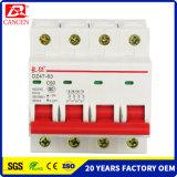 Qualität des freies BeispielMCB 4p hergestellt in China 6000ka, welches die Kapazität bricht