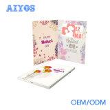 Joueur promotionnel de carte vidéo de cadeau de calendrier d'ODM 4.3inch d'OEM