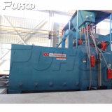 Prezzo autenticato della macchina di granigliatura del trasportatore a rulli del piatto d'acciaio