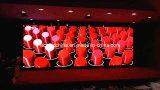 Tela Rental audiovisual P3 do diodo emissor de luz do equipamento, tela de alumínio de fundição do diodo emissor de luz do estúdio da tevê