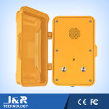 呼出すべき二重ボタンが付いている耐候性があるハンズフリーの緊急の電話