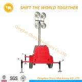 4X1000W Metal Halide Mobile Diesel Generator Light Tower
