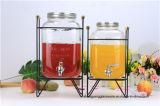 O suco de vidro dos recipientes de armazenamento enlata o grande tanque de armazenamento da bebida do frasco do armazenamento do tamanho