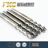 A extremidade de desbaste de alumínio de carboneto de tungsténio Fxc Mill
