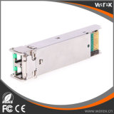 호환성 GLC-ZX-SM-C 광학적인 송수신기 1.25G 1550nm 80km 이중 LC 통신망 제품